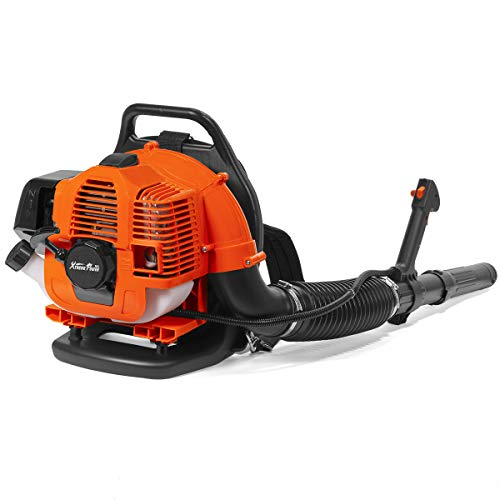 XtremepowerUS 31cc Outdoor Backpack Gas-Powered Leaf Blower 2-Cycle Engine Padded