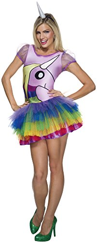 Women's Adventure Time Lady Rainicorn Costume, Multi, Medium