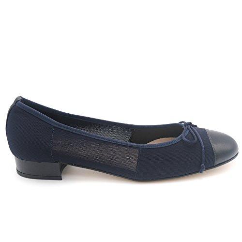 f1740f8697af Statut Ballerine Donna Art.l1072ela-1 Blu Blu. Chaussures pour femmes ...