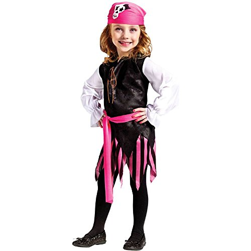 Caribbean Pirate Girl Toddler Costume - 24 Months-2T