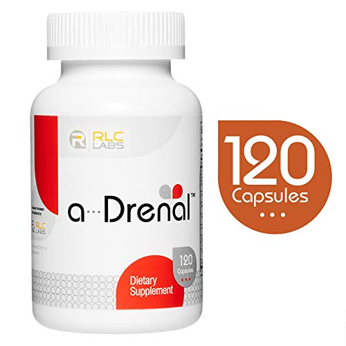 RLC, a-Drenal, Natural Supplement to Support Adrenal Health, Stress Relief and Energy, 120 capsules (30 servings)