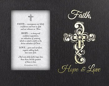 By Treasure Faith Love (Catholic & Religious Glowing Treasures - Faith, Hope, Love, 1 Corinthians 13:13)