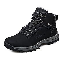 Men's Snow Boots Outdoor Waterproof Sneaker Winter Warm Shoes