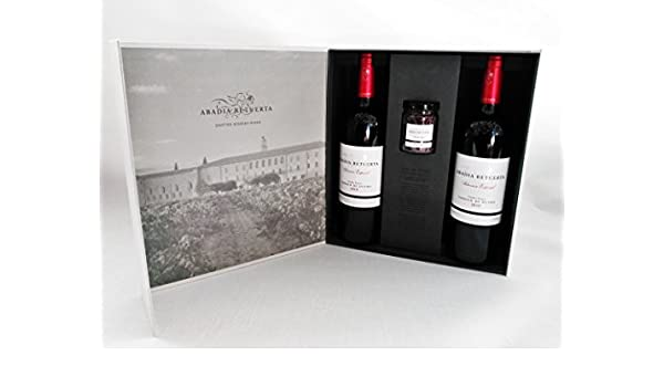 Estuche Premium Vino y Sal- 2 Botellas Abadía Retuerta Selección Especial 2010 y Sal de Vino Tempranillo: Amazon.es: Alimentación y bebidas