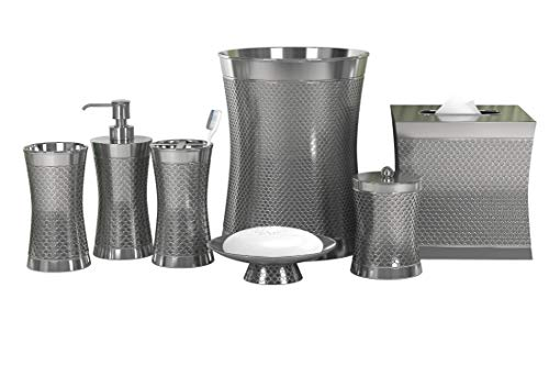 nu steel Trellis 7-Piece Bath Accessory Collection