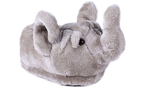 - Happy Feet 9016-5 - Elephant - XX Large Animal Slippers