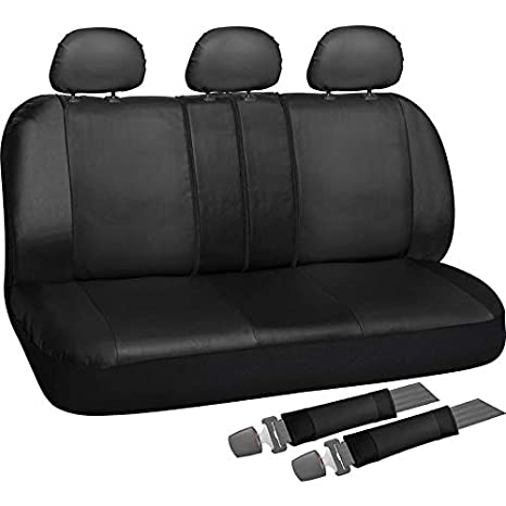 Terrific Motorup America Auto Bench Seat Cover Full Set Pu Leather Covers Fits Select Vehicles Car Truck Van Suv Gray Forskolin Free Trial Chair Design Images Forskolin Free Trialorg