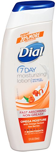 Dial Moisturizing Lotion, Omega Moisture, 12 Ounces