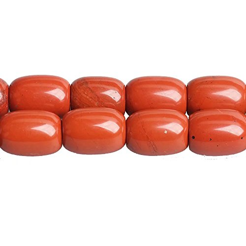 - Barrel Shaped 1318mm Red Jasper Stone Loose Beads Lots Supply for DIY Jewelry Craft Beading Sold by One Strand 15 Inch Apx 20 Pcs