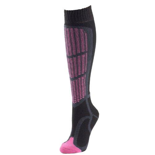 1000 Mile Paires de chaussettes de ski rembourrées pour femme