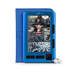 """Energy 1052 Electric Blue eBook 5"""" TFT LCD color"""