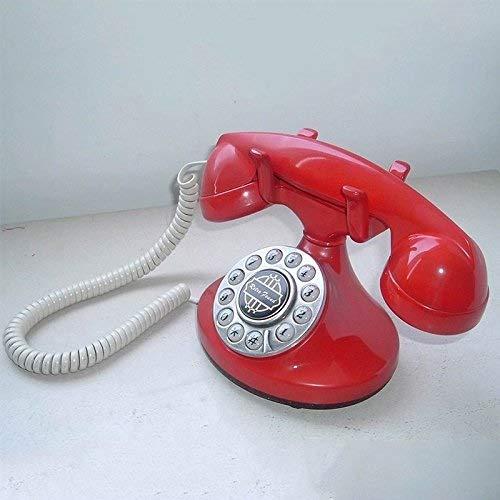 ZHPRZD Mobile Phone Simple Fixed Antique Home Appliances Landline Innovative Mobile Phone (Color: C) (Color : A)