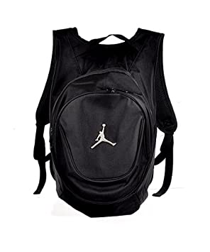 cbee980590b8e0 Image Unavailable. Image not available for. Colour  Nike Jordan Jumpman 23  Round Shell Style Backpack - Black
