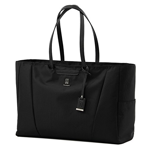 (Travelpro Luggage Maxlite 5 Women's Laptop Carry-on Travel Tote, Black, One Size)