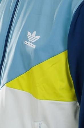 adidas Originals SPO CB Color Block TT Jacke blauweißgrün
