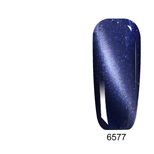 Rainbow Abby 8ML Blue Color Series Gel Varnish CANNI Nail Art Design