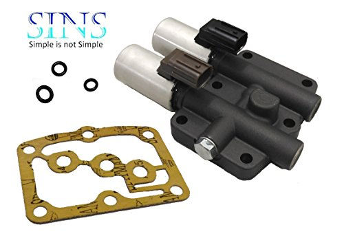 SINS Accord Civic Odyssey Pilot Prelude Civic CL MDX TL Transmissions Shift Solenoid Black 28400-P6H-013 28400-P7Z-004