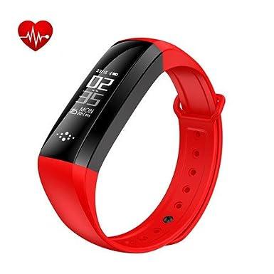 Smart Band, impermeable reloj inteligente pulsómetro actividad fitness Tracker pulsera Podómetro Pulsera inteligente Stop reloj contador de ...