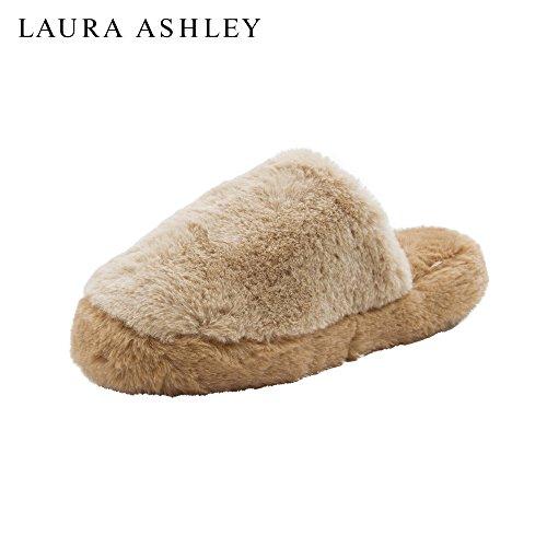 Laura Ashley Dames Oreiller En Peluche Coussins Compensés Wedge (voir Plus De Couleurs Et Tailles) Tan / Carmel