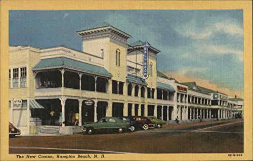 - The New Casino Hampton Beach, New Hampshire Original Vintage Postcard
