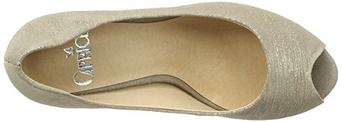 Caprice 29300 Damen Peep-toe Pumps Beige (taupe Multi)