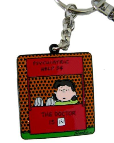 Peanuts Snoopy/Doctor Is In esmalte Llavero [Toy]: Amazon.es ...
