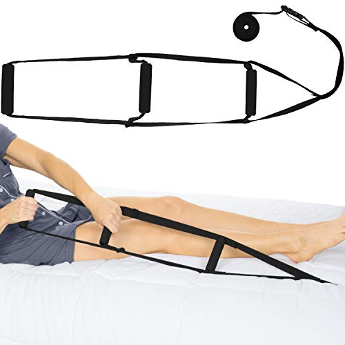 Vive Bed Ladder Assist - Pull Up Assist Device with Handle Strap - Rope Ladder Caddie Helper - Sitting, Sit Up Hoist for Elderly, Senior, Injury Recovery Patient, Pregnant, Handicap - Padded Hand Grip (Best Exercises To Help With Pull Ups)