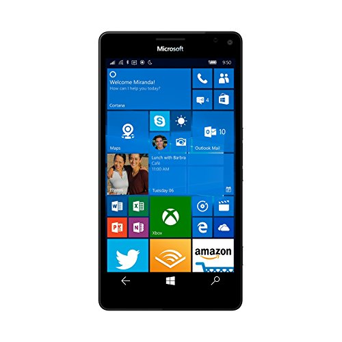 Microsoft Lumia 950 32GB Factory Unlocked 4G/LTE – International Version with No Warranty (White)