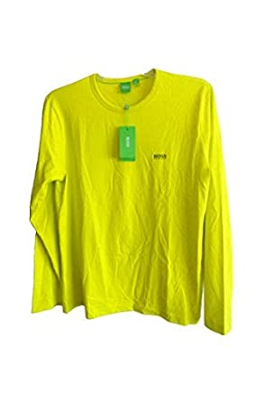 a46a2e0c7 Amazon.com: Hugo Boss Mens Togn Shirt Hi Yellow, Size XXL: Clothing