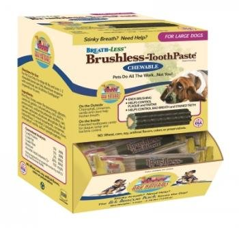 Gulf Coast Nutritionals AT40009 Breathless Brushless Toothpaste Plaque Zap Dispensers Box - Large