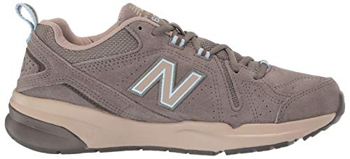 New Balance Women's 608 V5 Casual Comfort Cross Trainer, Bungee/Burlap, 7 N US