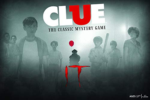 Clue IT Board Game | Based on The 2017 Drama/Thriller IT | Officially Licensed IT Merchandise | Themed Classic Clue Game -