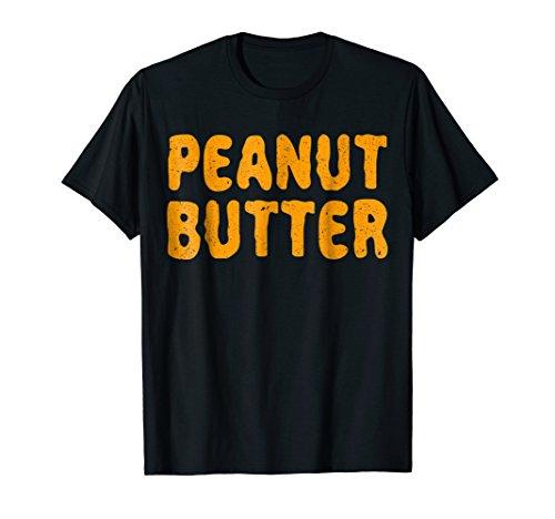 Peanut Butter T-Shirt Matching Halloween Costume
