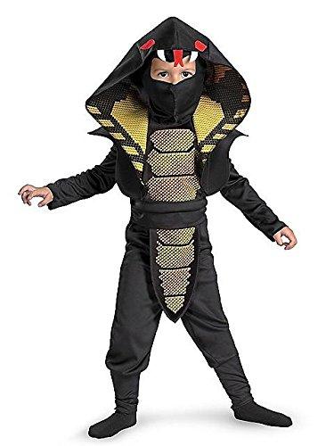 Disguise 198274 Cobra Ninja Toddler- Child Costume Size: Small (4/6) ()