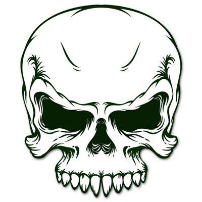 amazon com military army skull racing car styling vynil car sticker