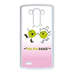 LG G3 Cell Phone Case White_Pea Pea Dance Adsmy