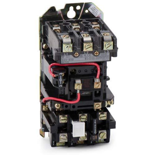 ALLEN BRADLEY 509-BOD SIZE 1 115-120V-AC 10HP 27A AMP MOTOR STARTER ()