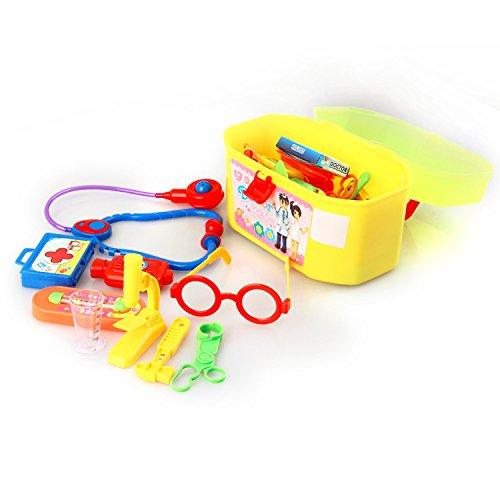 Lambie Classic Toddler Costumes (Mini Kids Doctor Nurse Medical 1 Set 29pcs Toys & Hobbies, Classic Toys, Pretend Play Decor Puzzle Science Educational)