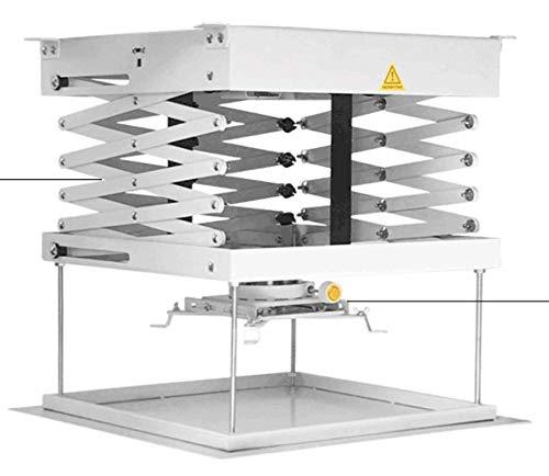 CGOLDENWALL - Soporte de techo para proyector eléctrico, soporte ...