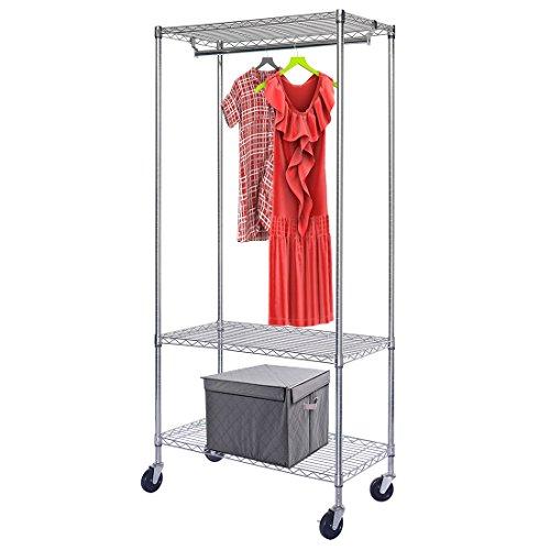 Generic Supreme 3-shelf Clothing Rail Rack