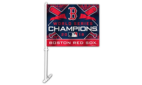 - Fremont Die 2018 World Champions Boston Red Sox Car Flag