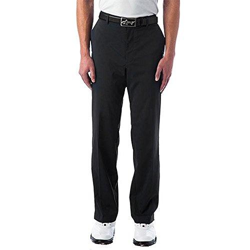 Norman Greg Microfiber Pants - Greg Norman Collection Men's Ml75 Hybrid Flat Front Pant, Black, 42/32