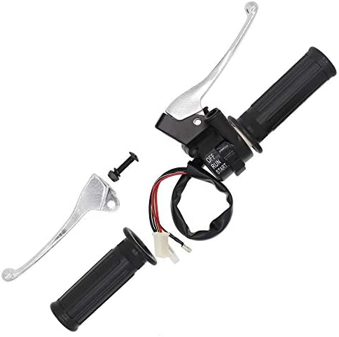 Throttle Housing Start Kill Switch Brake Lever Assembly Fit Yamaha Y-Zinger PW50