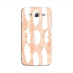 Cover It Up - White Feather Pink Galaxy J5 Hard Case