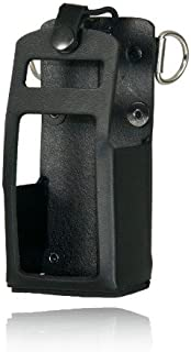 product image for 5701RC-1 - Boston Leather Radio Holder For Motorola APX 4000 Kenwood TK-2180 TK-3180