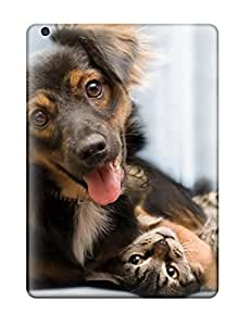 nazi diy Excellent Ipad Air Case Tpu Cover Back Skin Protector Cat And Dog by icecream design