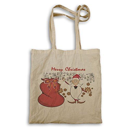 Frohe Weihnachten Winter Tragetasche p468r
