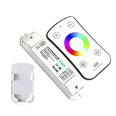 6500K 5050 3528 Strip Tape Lights 5 Year Warranty LTRGBW M2 LED Controller Dimmer Color Temperature Adjustable Dimming CT Control Bi-colored White 3000K