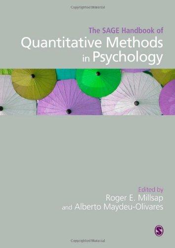 The SAGE Handbook of Quantitative Methods in Psychology (Sage Handbooks)