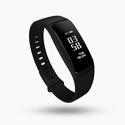 Smart Pulsera Tensiómetro Pulsómetro Bluetooth Brazalete Deportivo Antiguos Salud Llevar: Amazon.es: Deportes y aire libre